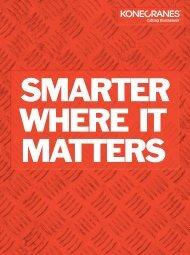 Smarter Where It Matters - Konecranes