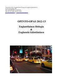 Opinto-opas 2012 - Helsinki.fi