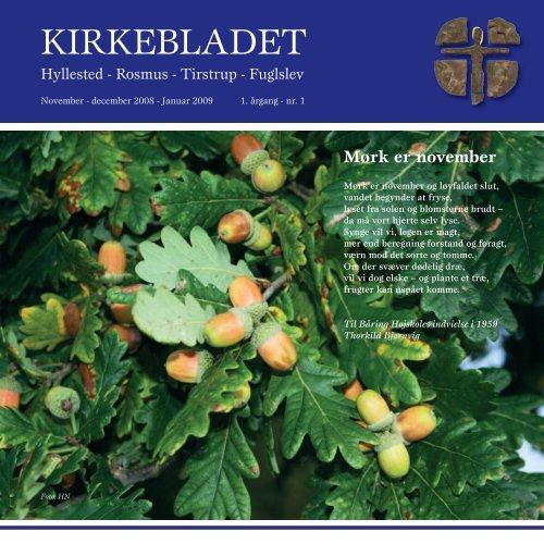 KIRKEBLADET - Tirstrup og Fuglslev kirker