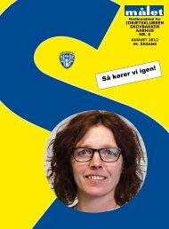 Læs den nyeste udgave af Klubbladet Målet - Skovbakken