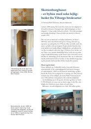 Skottenborghuset - et byhus med seks lejlig- heder ... - Den Gamle By