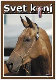 Svet konío 4/2009 - Zväz chovateľov koní na Slovensku