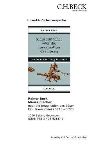 Dokumente - C. H. Beck