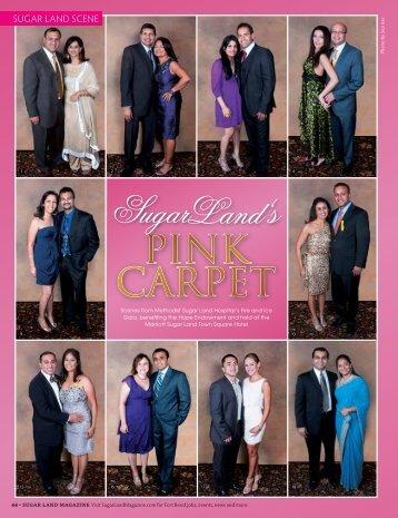 PINK CARPET - Sugar Land Magazine
