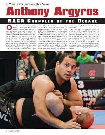 Anthony Argyros - Bowie MMA
