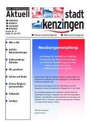 Ausgabe 29 2012 - Kenzingen