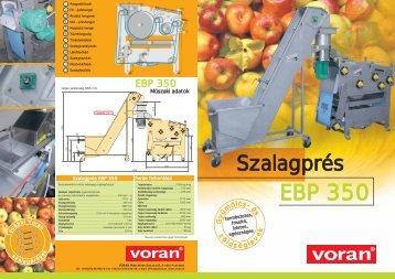 EBP 350 - voran Maschinen GmbH