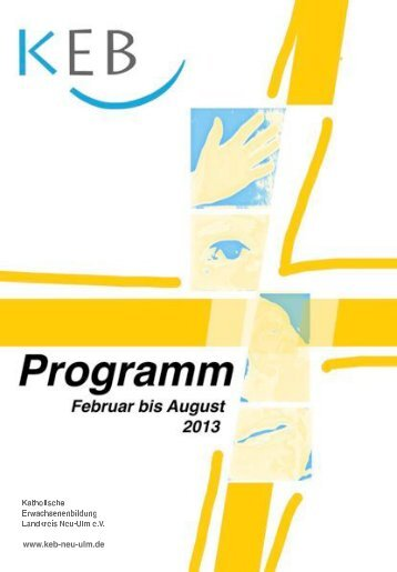 Katholische Erwachsenenbildung Landkreis Neu Ulm e.V. www.keb ...