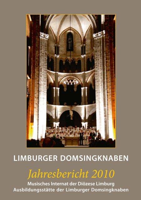 Jahresbericht 2010 - Limburger Domsingknaben