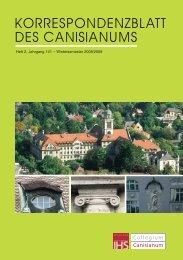 Heft 2, Jahrgang 141 - Canisianum