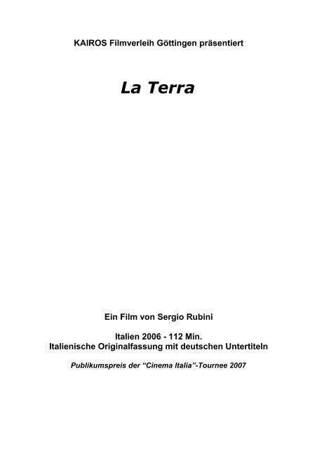 Presseheft (PDF) - Kairos Filmverleih