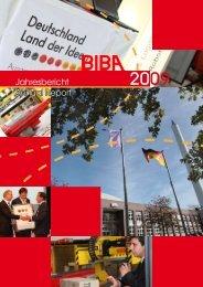 Jahresbericht 2009 - Biba - Universität Bremen