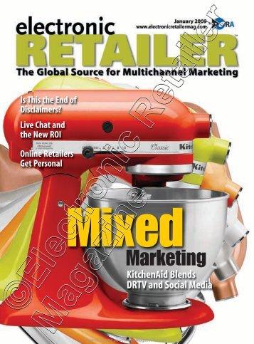 January 2009 - Electronic Retailer Magazine