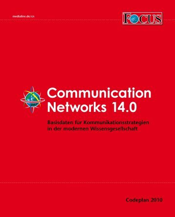 Communication Networks 14.0 - 2010 - FOCUS MediaLine