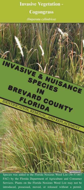 Brevard County - Florida Exotic Pest Plant Council