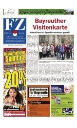auf ALLES! - Epaper.fraenkischezeitung.de - Fränkische Zeitung