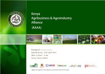 Kenya Private Sector Breakfast Meeting (1.2Mb ~ 3 - FANRPAN