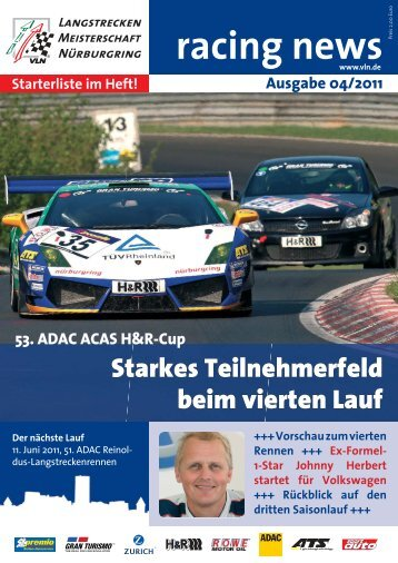 VLN Racing News - MSC Adenau e. V.