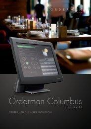 Orderman Columbus - CDSOFT Vertriebs GmbH