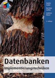 Datenbanken Implementierungstechniken : Vorwort - Mitp