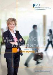 KRH Geschäftsbericht 2011 - Klinikum Region Hannover GmbH