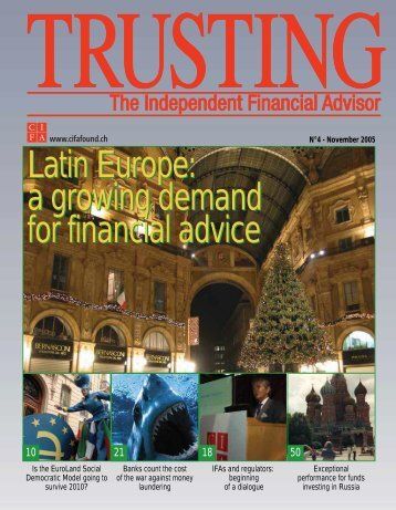 Latin Europe: a growing demand for financial advice Latin ... - CIFA