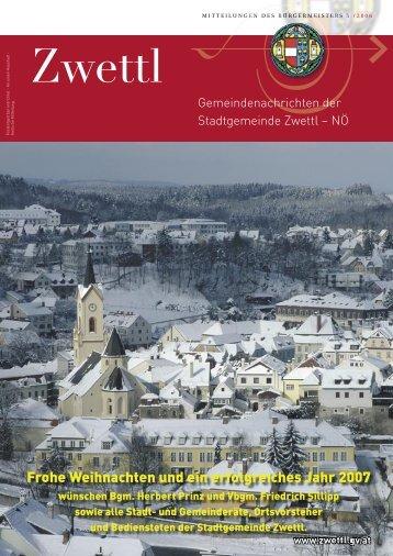 Stadt- und Dorferneuerung - Zwettl