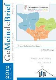 September – Oktober 2012 - Evangelische Kirchengemeinde ...