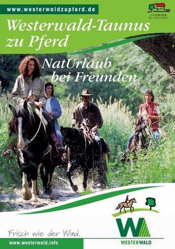 Westerwald-Taunus zu Pferd - Gastgeber Westerwald