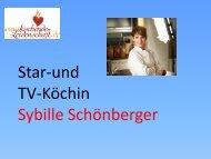 Sybille Schönberger - Kochende Leidenschaft