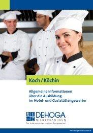 Koch / Köchin - DEHOGA Niedersachsen