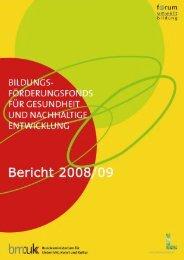 Jahresbericht des Bildungsförderungsfonds ... - Schulpsychologie