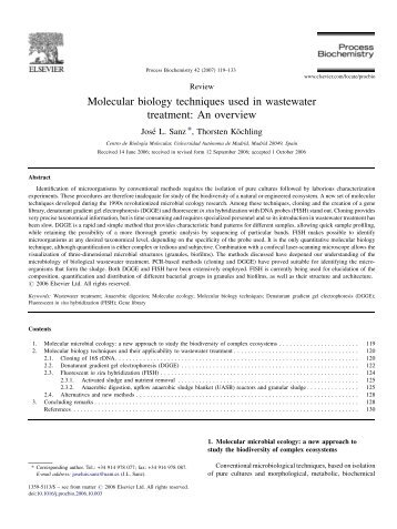 common molecular biology techniques used in Techniques in molecular biology (to study the function of genes) analysis of nucleic acids: polymerase chain reaction (pcr)  acan be used to amplify rare specific dna sequences from a complex mixture when  atwo common vectors are e coli plasmid vectors and bacteriophage λvectors.