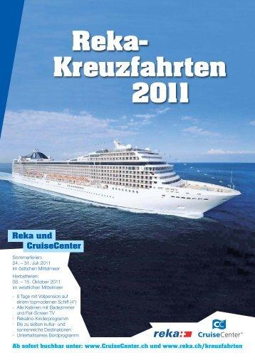 Reka- Kreuzfahrten 2011