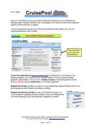 Seite 1 von 10 07.01.2004 Ziel von Cruisepool ... - The Cruise Line AG