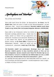 Sperlingskauz und Moorhexe - Naturpark Grebenzen