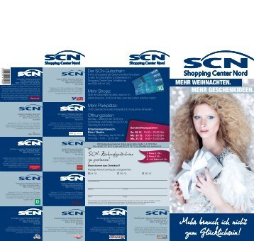 Aktions-Folder drucken - SCN