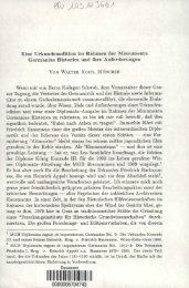Eine Urkundenedition im Rahmen der Monumenta Germaniae ...