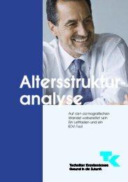 Leitfaden Altersstrukturanalyse - Techniker Krankenkasse