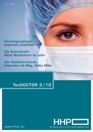 TaxDOCTOR 2/10 - Hammerschmied Hohenegger und Partner