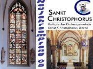 Jahresrückblick 2004 - Pfarramt St. Christophorus