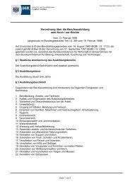 Ausbildungsordnung Koch / Köchin - Vbs-bremerhaven.de