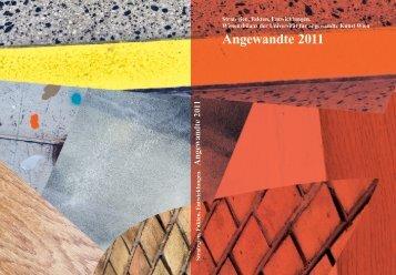 Wissensbilanz 2011 - Universität für angewandte Kunst Wien