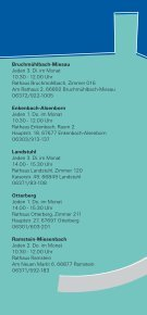 Sprechstunden des Sozialpsychiatrischen Dienstes  - Landkreis ... - Seite 2