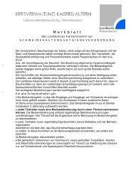 Merkblatt zur Schweinehaltungshygieneverordnung - Landkreis ...