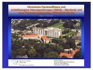chronische Herzinsuffizienz - bei der Kaiserswerther Diakonie