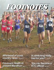 Whirlwind of cross country races - Knoxville Track Club