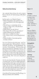 Broschüre - bei der Kaiserswerther Diakonie