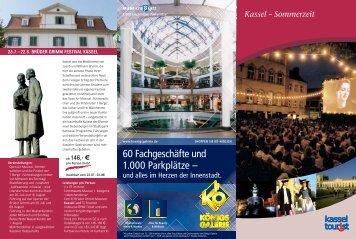 60 Fachgeschäfte und 1.000 Parkplätze – - Kassel