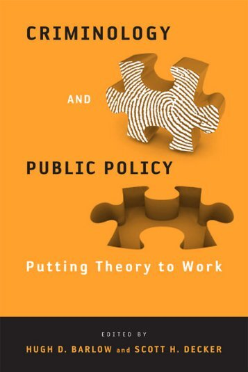 Criminology and Public Policy - Brainshare Public Online Library